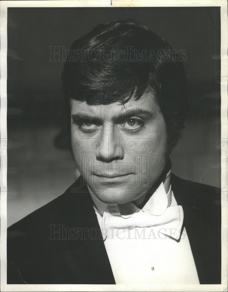 1972 Press Photo Actor Oliver Reed - Historic Images