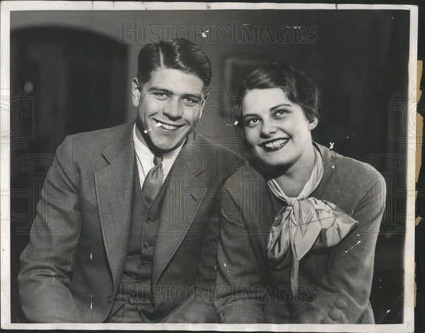 1932 Press PhotoDallas Marvil, and Dorothy Ames - Historic Images
