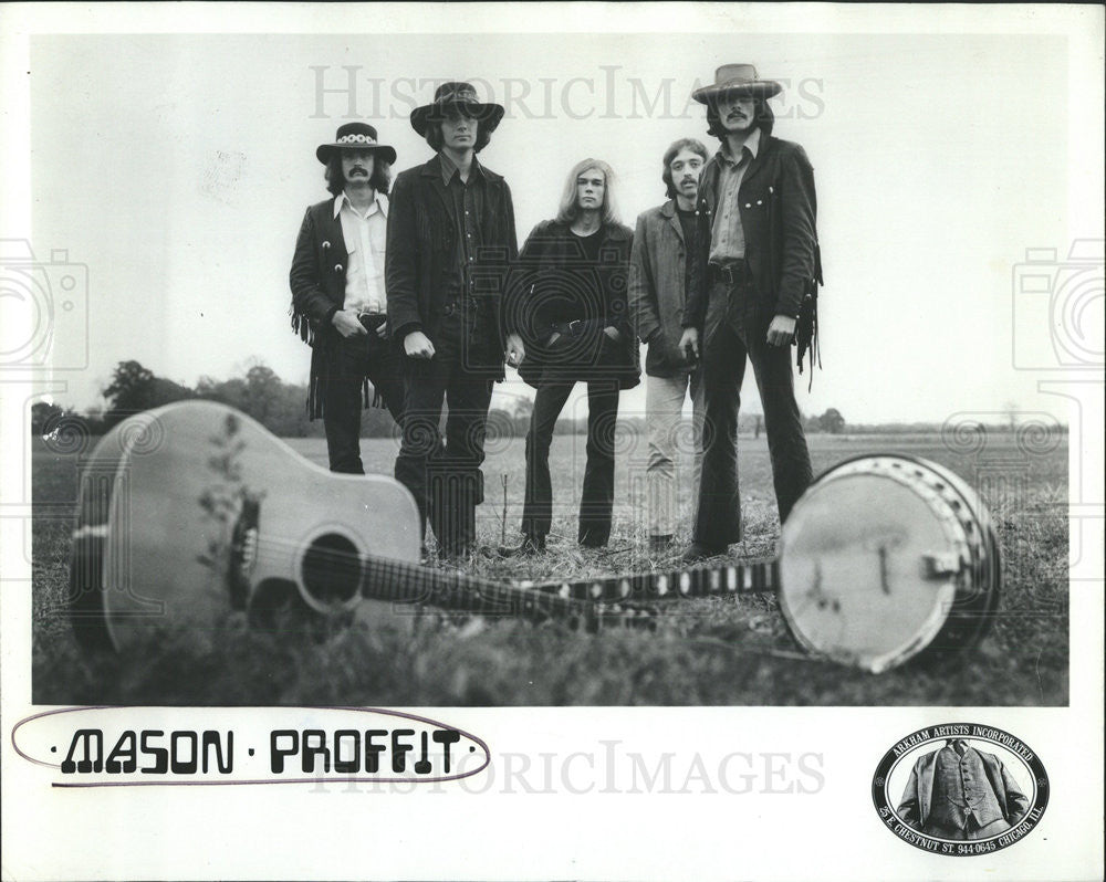1969 Press Photo mason Profit Musicians - Historic Images