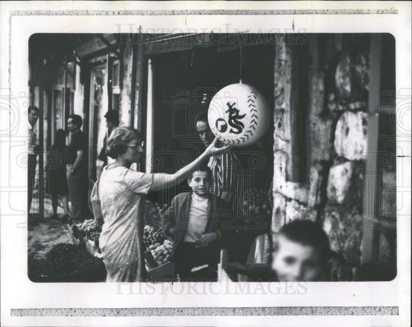 1968 Press Photo Sox souvenir in Mardin Turkey - Historic Images