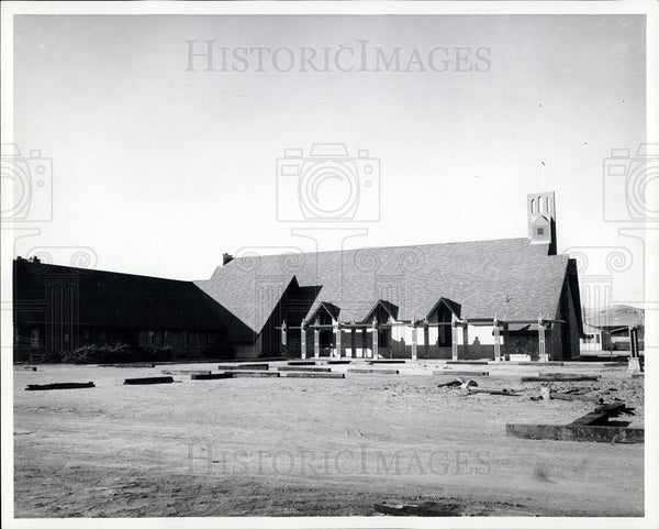 1965 Press Photo First Methodist Church, Sparks, Nevada - Historic Images