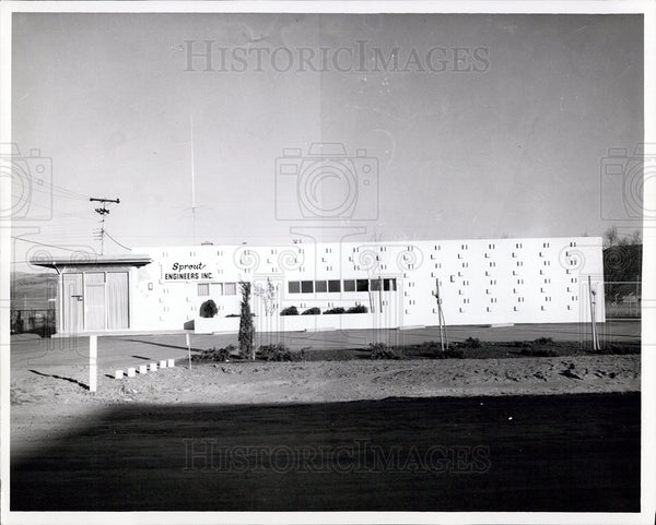 1965 Press Photo Sprout Engineers, Inc, Sparks, Nevada - Historic Images