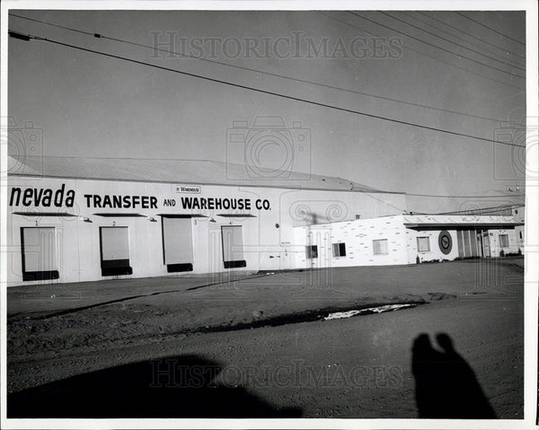 1965 Press Photo Nevada Transfer and Warehouse Company, Sparks, Nevada - Historic Images