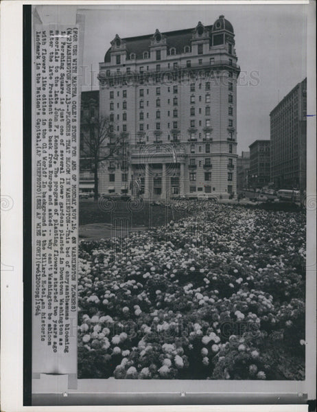 1964 Press Photo Kennedy Garden - Historic Images