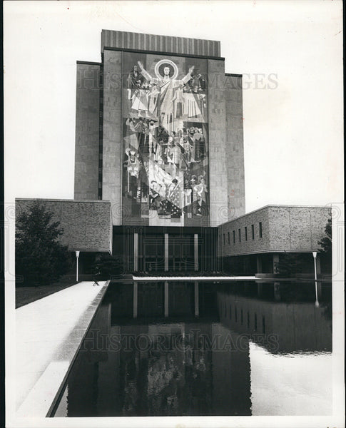 1969 Press Photo Artistry in South Bend Indiana - Historic Images