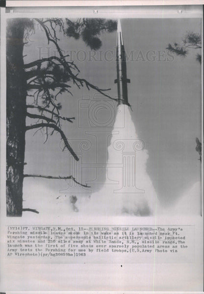 Press Photo Missile - Historic Images
