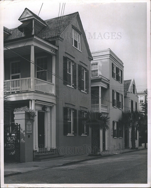 Press Photo Housing in Charleston, South Carolina - Historic Images