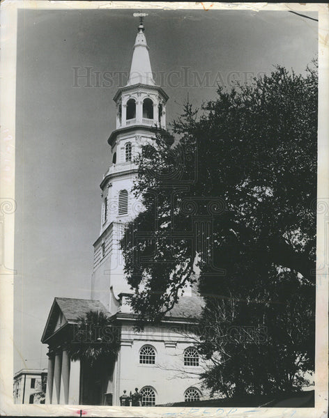 1969 Press Photo St. Michael's Church where George Washington worshipped - Historic Images