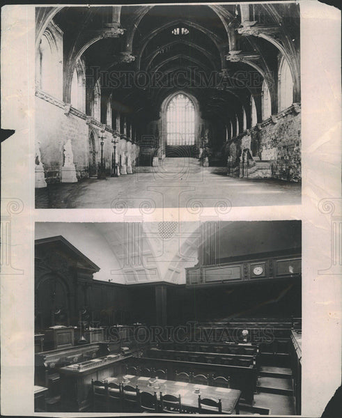 1919 Press Photo Westminster Hall/Central Criminal Courts, where Kaiser Tried - Historic Images