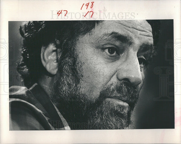 1985 Press Photo Abbie Hoffman - Historic Images