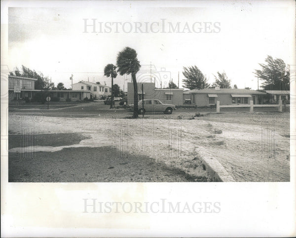 1975 Press Photo Treasure Island Hurricane Eloise - Historic Images
