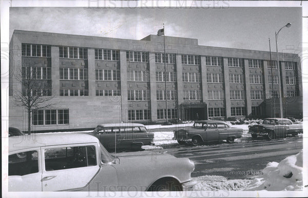 1956 Press Photo Cheyenne Wyoming State Office Building - Historic Images