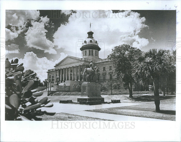 1985 Press Photo South Carolina State House - Historic Images