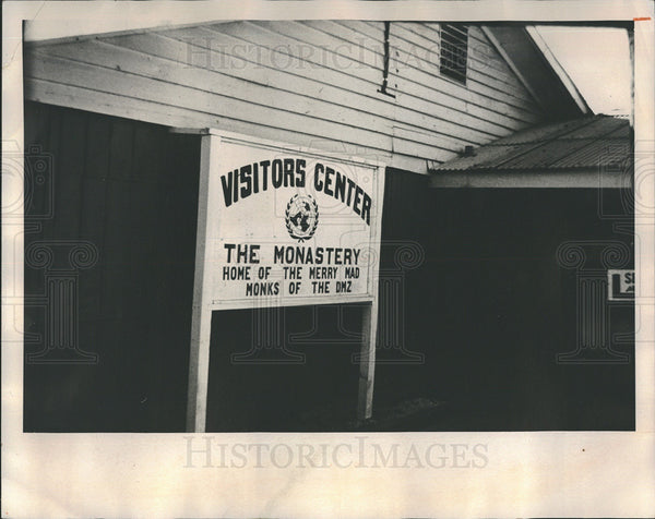 1976 Press Photo Army-operated visitor's center in South Korea. - Historic Images