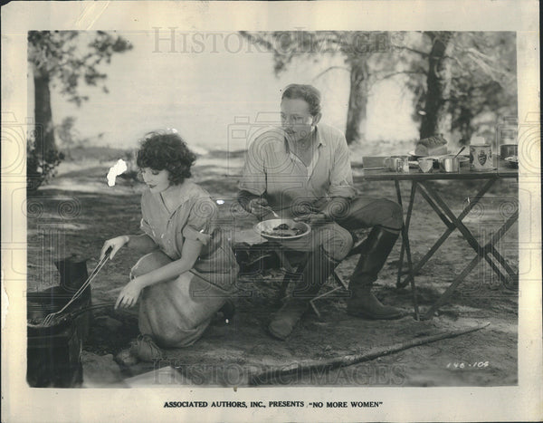 "1924 Press Photo Madge Bellany and Matt Moore in ""No more Women"" - Historic Images"