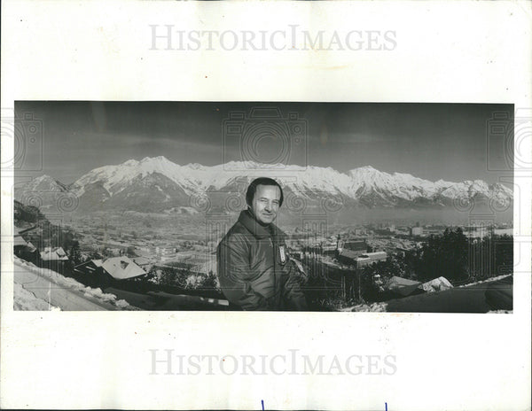 1976 Press Photo Twelfth Winter Olympic Games Host Jim McKay - Historic Images