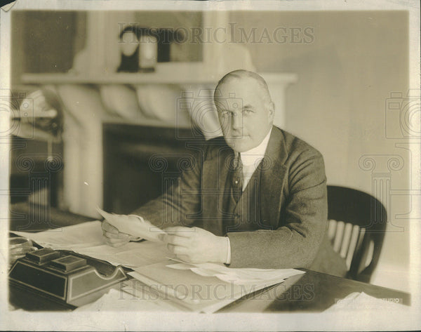 1917 Press Photo Vance McCormick Chairman Of War Trade Board - Historic Images