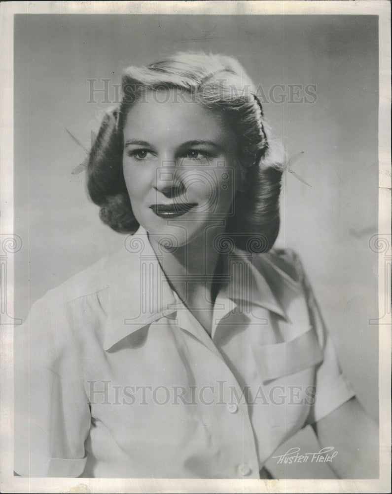 "1959 Press Photo of actress Beverly Younger, star of ""The Young and Fair"" - Historic Images"