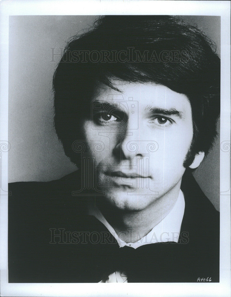 1983 Press Photo Singer Neil Rosenshein Portrait Closeup - Historic Images