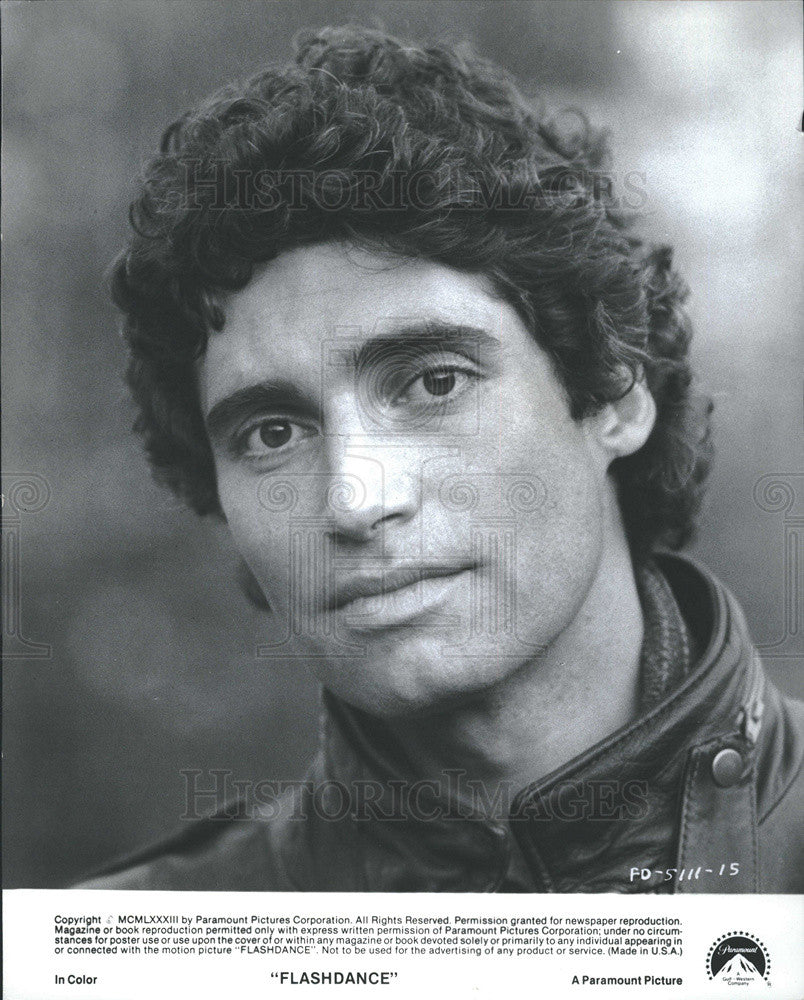 "Press Photo Michael Nouri in ""Flashdance"" - Historic Images"
