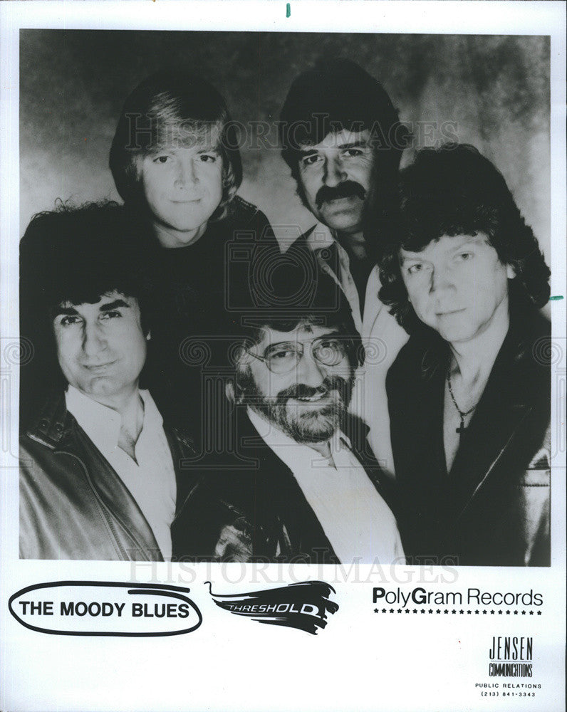 1984 Press Photo The Moody Blues - Historic Images