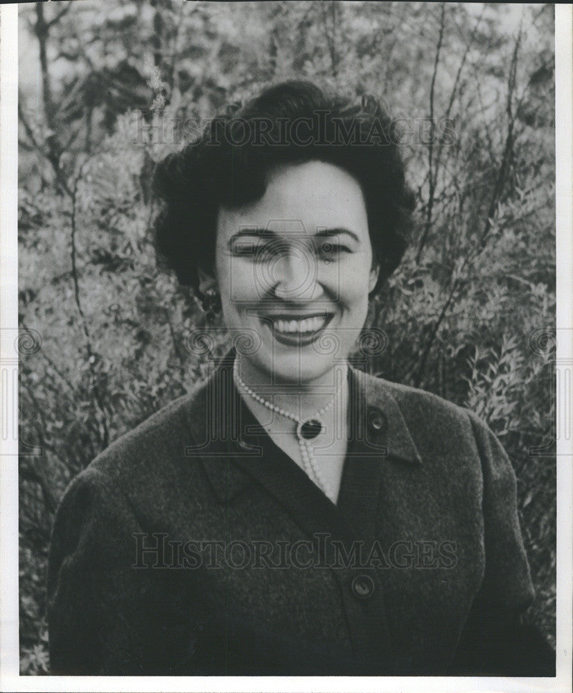 Press Photo Ms. Gordon Monson Chairman of Cook County League of Women Voters - Historic Images
