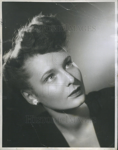 1948 Press Photo Anne Meacham In The First Mrs Fraser At Selwyn Theater - Historic Images