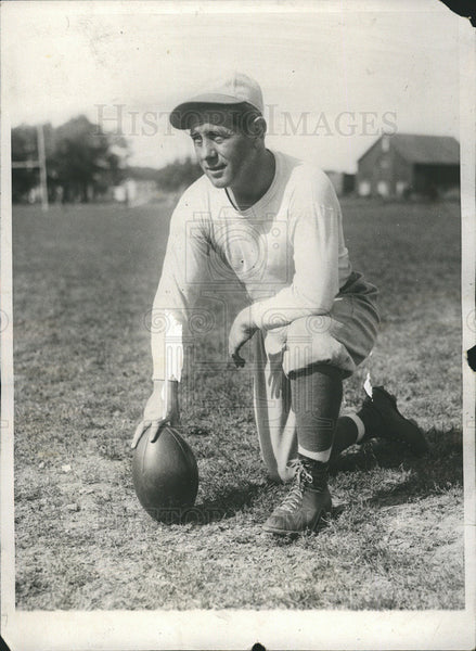 1928 Press Photo John chick Neeham football - Historic Images