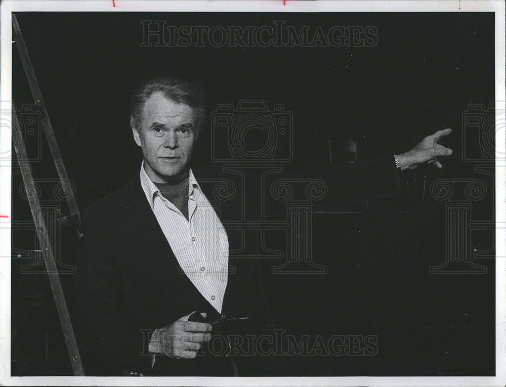 "1975 Press Photo Tony Mockus in ""Our Town"" by Thornton Wilder - Historic Images"