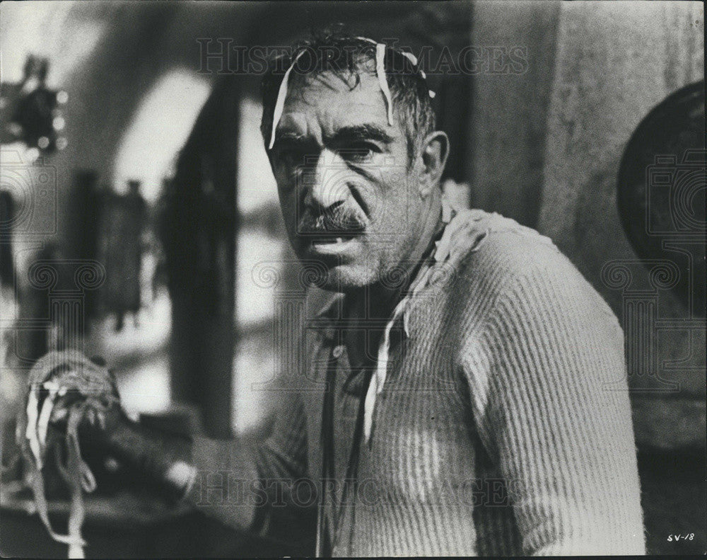 "Press Photo Anthony Quinn in ""The Secret of Santa Vittoria"" - Historic Images"