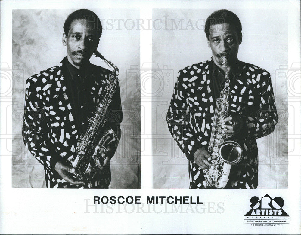 1995 Press Photo Roscoe Mitchell To Play At Music Festival - Historic Images