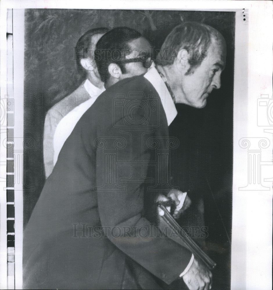 1970 Press Photo Dr Timothy Leary a Drug Cult Hero and Fugitive from California - Historic Images