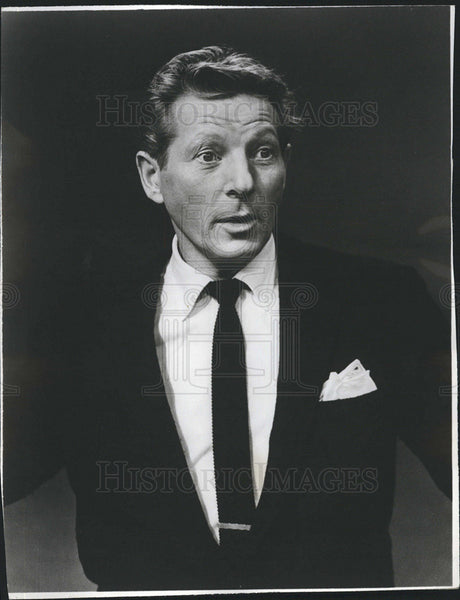 Press Photo The Danny Kaye Show Series Host Kaye Candid - Historic Images