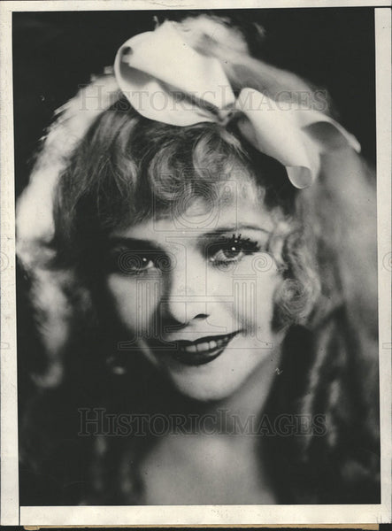 1930 Press Photo Vivian Duncan Topsy Eva - Historic Images
