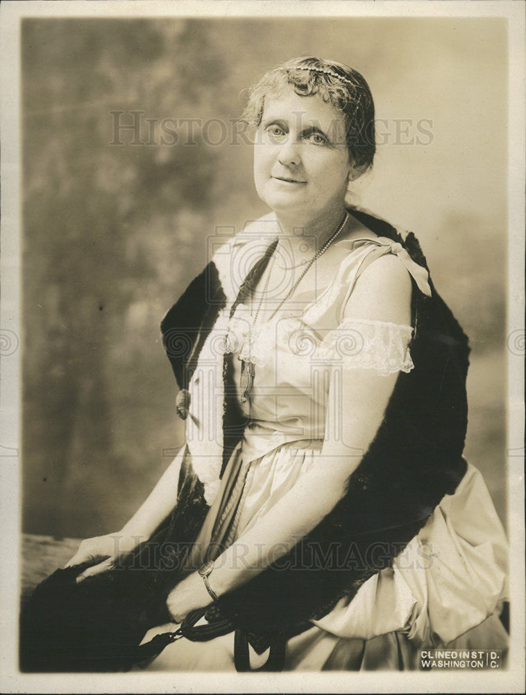 1916 Press Photo Mrs. Anthony Caminettie Wide of Commissioner of Immigration - Historic Images