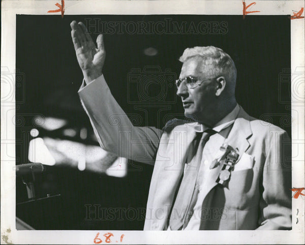 1952 Press Photo Senator Douglas of Illinois - Historic Images