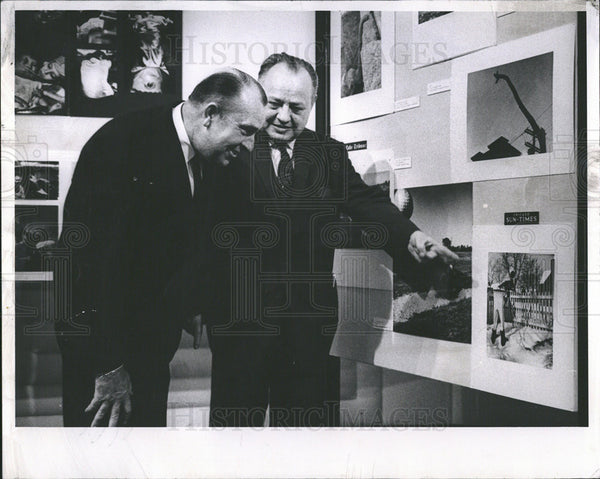 1962 Press Photo Felix McKnight American Society Newspaper Editor Sun Time - Historic Images