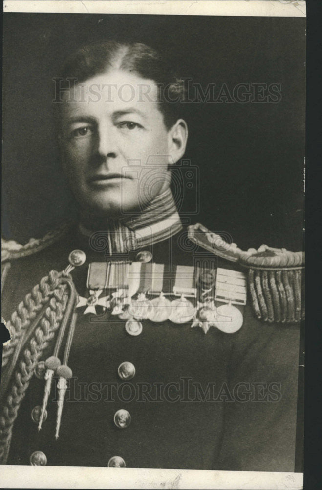 1916PressPhotoAdmiral Beatty of British Navy who commanded troop against  German - Historic Images