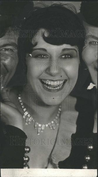 1930 Press Photo Canadian Born Actress Fifi D'Orsay - Historic Images
