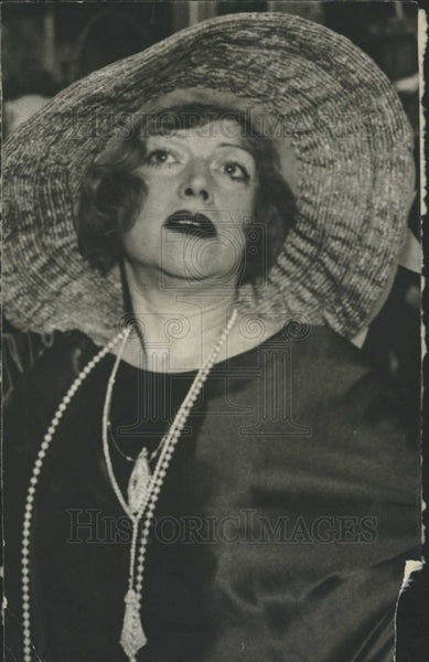 1928 Press Photo Jenco Suiman American Film Television Stage Actress Chicago Ill - Historic Images
