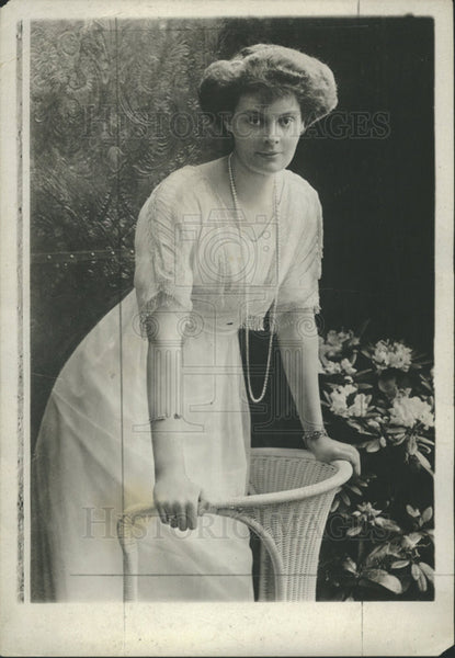 1912 Press Photo Crown Princess Cecelia of Germany - Historic Images