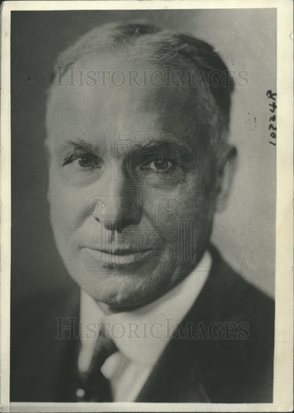 1921 Press Photo Jacob G Schuman,President of Cornell U - Historic Images