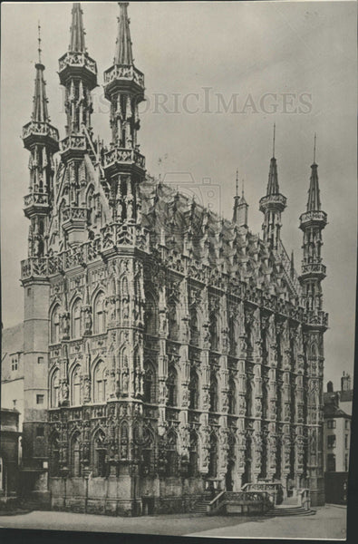 1914 Press Photo BELGIUM CITY LOUVIAN - Historic Images