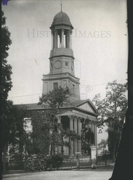 1907 Press Photo ST. PAUL'S P. E. CHURCH RICHMOND VIRGINIA - Historic Images