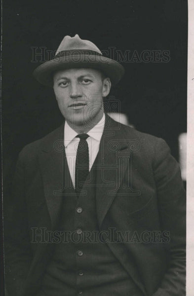 1923 Press Photo David Rittenhouse Aviator - Historic Images
