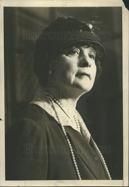 1924 Press Photo Mrs Jules F Bache Must Pay $26,000 Duty Payment On Goods - Historic Images