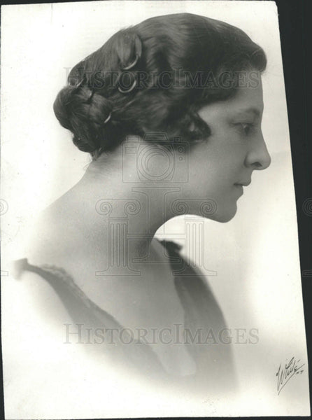 1920 Press Photo Antoinette Rochte Broadway Actress - Historic Images