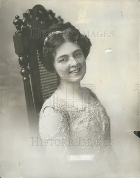 1925 Press Photo Julia Sanderson,stage actress - Historic Images