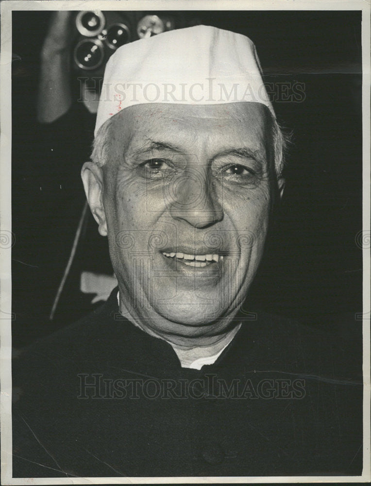 1988 Press Photo Jawaharlal Nehru First Prime Minister Of India