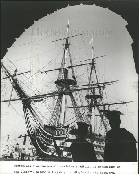 1989 Press Photo Horatio Nelson Royal Navy Flag Officer Napoleonic Wars - Historic Images